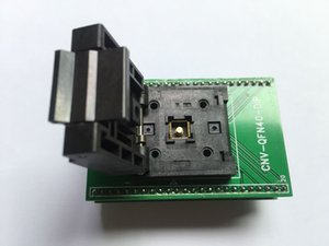 QFN40 İÇİN DIP40 Programcı Adaptörü QFN-40BT-0,5-01 IC Testi Soket QFN40 0.5mm Pitch 6x6mm Enplas Soket Yanık