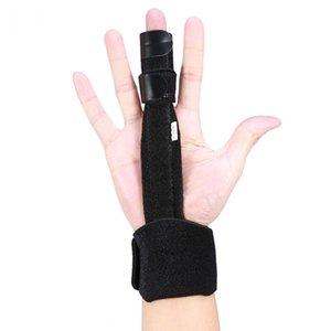 Prise en charge des courses Finger réglable Splint Joints Fractures stabilisateur Trigger Finger main support de récupération Protection Brace Fix blessures Ai ...