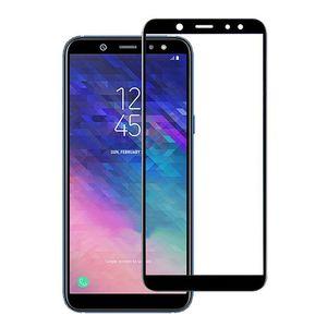 Para Samsung Galaxy A6 2018 J6 2018 3D protetor de tela barato vidro temperado cobertura completa nenhum pacote DHL frete grátis
