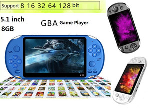 X12 Handheld Game Player 8GB Memory Portable Video Game Consoles 5.1 inch came palyers Support TF Card 32gb MP3 MP4 Game player