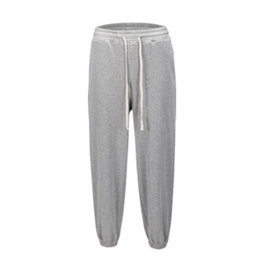 Hip Hop Vintage Siyah Gri Baghee eşofman 2020ss Erkekler Gevşek Fit Dantelli Jogger Pantolon Streetwear