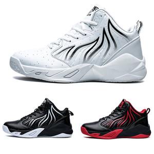 2020 HOT 로맨틱 kind7 흰색 검은 색 빨간색 커플 레이스 쿠션 여성 여자 MEN 소년 실행 신발 디자이너 트레이너 스포츠 운동화 운동화