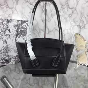 Hot Style casuale delle donne Tote Bag borse della pelle bovina delle donne signore del cuoio genuino borsa Big Shopper Bag Cluth