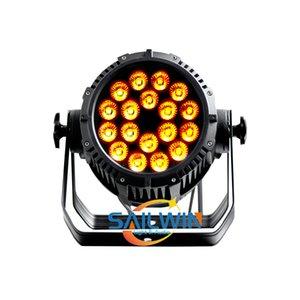 중국 SAILWIN 18 * CINEMA, 이벤트 프로덕션과 결혼식 파티를위한 18W 6IN1 방수 LED PAR 라이트의 사용