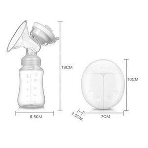 Double Electric Breast Pump Powerful Nipple Suction Usb Electric Breast Pump With Baby Milk Bottle Cold Heat Pad PP+Silicone