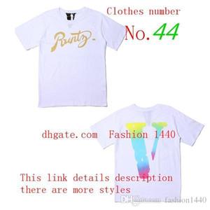 2020 vloneing Роскошные мужские футболки высокого качества прилива бренда рынк короткий рукав дизайнер бренда альянс с меткой хип-хоп алфавита v6