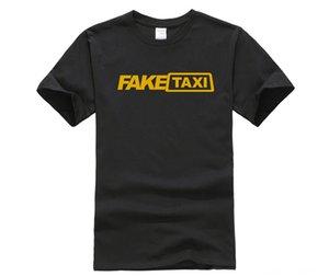 Fashion Printed mens TShirt Short Sleeve Fake Men's Tees & Polos Men's Clothing Taxi High Quality Mens T shirt Black FakeTaxi Print T Shirt