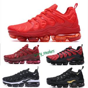 Nike Air Vapormax plus TN VENDITA CALDA 2018 Nuovo 2018 TN Inoltre VM sotto forma metallica Olive Uomini correnti del mens di lusso di marca Scarpe Sneakers Trainers 40-45 S98