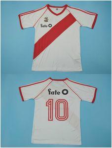 10 # 1986 Rugby River Plate Trikots Caniggia Norberto Alonso Aussichts Trikots nach Hause retor camisetas Größe S-XXL