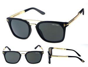 Hot TOM Desinger Gafas de sol para hombres Mujeres Gafas de sol Protección UV 7 colores Envío por gota