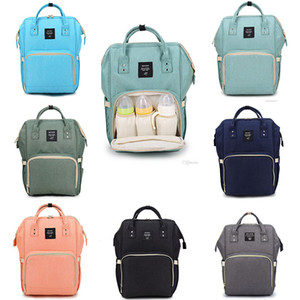High-capacity Diaper Bags Mommy Backpack 8 color Fashion Both shoulders Portable Outdoor Waterproof Nursing Backpack
