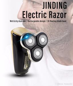 Rasoir électrique Razor 5 lames de rasoir rechargeable USB à lame de rasoir pour hommes Rasoir 3D lavable Machine de rasage flottant JD-603A BB