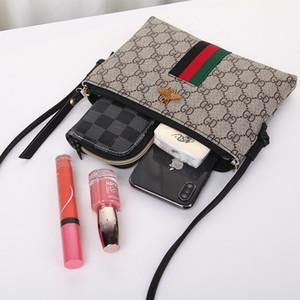 delle donne commercio estero sacchetto 2019 nuovo modo selvaggio borsa semplici casuale Shoulder Bag Messenger piccoli sacchetti di api Handbags Purses 452