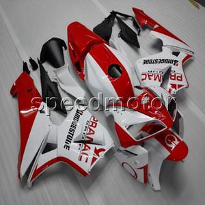 23colors + Screws Spritzgussform rot weiß Motorrad Verkleidung Rumpf für Honda F5 2005 2006 CBR 600RR ABS Motor Panels