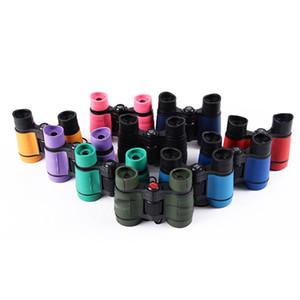 1PC أطفال الأطفال التكبير لعبة مجهر تلسكوب 15 الألوان الأطفال تلسكوب لعب