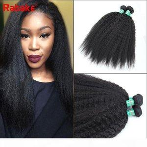 Coase Yaki Kinky Straight Human Hair Bundles Malaysian Brazilian Peruvian Raw Indian Virgin Human Hair Weave Extensions Bulk Wholesale Deal