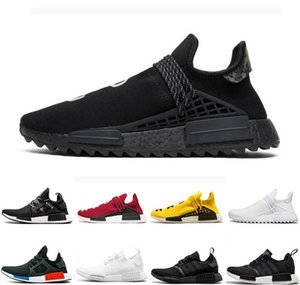 Black Nerd NMD R1 hu Human Race XR1 Hommes Chaussures de course Pharrell Williams Bred JO Classique Oreo Hommes Femmes Mastermind Japan Chaussures de sport