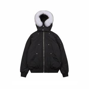 Yeni Erkek Tasarımcı Aşağı Coat Yeni Marka Moda Katı Renk Uzun Kollu Aşağı Parkas Erkek Lüks Açık Giyim Coat Parkas XSbedeni-2XL