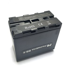 전원으로 NP F970 NP-F970 배터리 케이스 FALCON 눈 BB-6 6 AA 배터리에 맞는 상자에 대한 LED 비디오 라이트 램프 모니터 패널