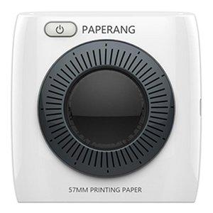 Yazıcılar PAPERANG P2 Taşınabilir Mini Yazıcı termal Bluetooth yazıcı Kablosuz Termal Resim Fotoğraf Telefon Bağlantısı 300 DPI 1000mAh Ba