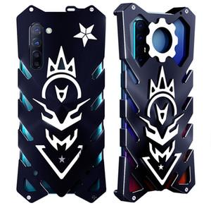Funda de aleación para oppo reno3 lujo nuevo Thor Heavy Duty Armor Metal aluminio teléfono caso para oppo reno 3 pro 2 2z paquete completo anti caída caso