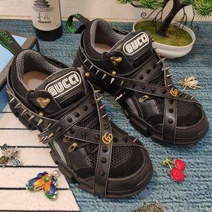 Новые женские мужские FlashTrek кроссовки с съемными шипами роскоши дизайнер обуви мужских спортивной обуви мужчин и женщинами»