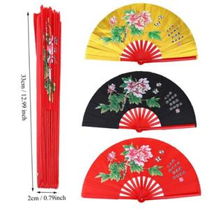 Bamboo Tai Chi Fan Arts martiaux main droite Wushu danse Pratice formation Taichi matin exercice Fan chinois