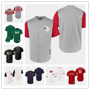 Cincinnati Johnny Bench Reds für Herren Joey Votto Jose Iglesias Rückfalltrikot Custom Red 2019 Asian Heritage Month Flex Base Japanisches Trikot