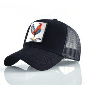 Berretti da baseball Moda Casual Snapback Snap Cap Ricamo Bear Coccodrillo Cock Wolf Ball Hat Cappello da sole Outdoor Summer Hat di alta qualità