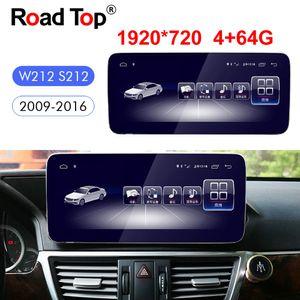 """10.25 """"메르세데스 벤츠 E 클래스 2,009에서 2,016 사이 W212 S212 안드로이드 8 옥타 (8) 코어 자동차 라디오 GPS 네비게이션 블루투스 무선 헤드 유닛 화면"""