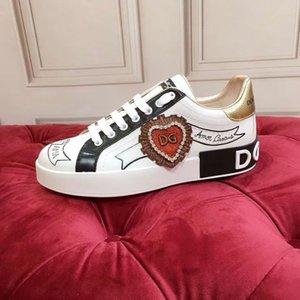 2020o de lujo hecho a medida de los hombres y zapatillas de deporte casuales de graffiti pintados a mano de la mujer, elegante y versátil zapatos de fiesta de la personalidad, tamaño: kol02