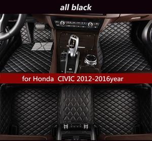 Honda CIVIC 2012-2016year Kaymaz toksik olmayan paspas araba paspası için
