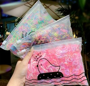 New 1000pcs Pack Girls Colorful Small Disposable Rubber Bands Gum For Ponytail Holder Elastic Hair Bands Fashion Hair Accessories