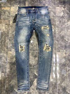 NUEVO Stryle Summer Mens Jeans VLSS Casual Brand Designers Design Design Design White Slim Fashion Pay Pean Pantalones Pantalones Pantalones Pantalones Tamaño 29-40