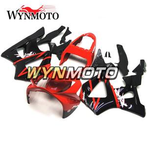 Kit de Carenagem Completa Para Honda CBR900RR 929 2000 2001 CBR900 RR 00 01 ABS Injeção De Plástico Da Motocicleta Carroçaria Gloss Vermelho Preto Cowlings Carenes