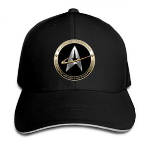 Star Trek 50 adultes Baseball Cap Snapback Chapeaux Hip Hop Flat Hat Unisexe Hommes Femmes Casquettes de sport extérieur Casquette