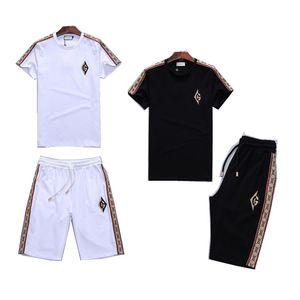 Mens New Brand Designer Sets T-shirt And Pant Men Cotton Short Tracksuit Women Summer Suit Short Sport Suit 2Pcs Set s-3XL