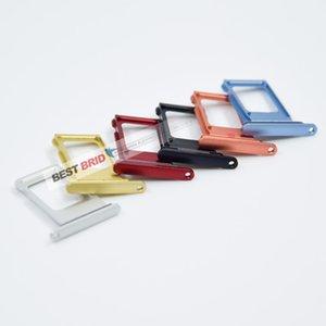 10pcs / porción de ranura SIM dual individual XR bandeja de tarjeta SIM adaptador para el iPhone de piezas de repuesto Holder