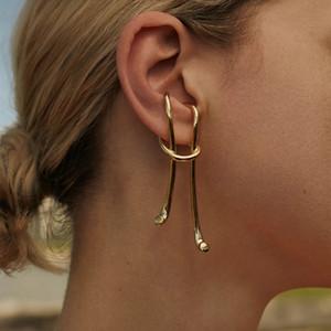 Gothic Ear Cuff for Women Vintage Metal Geometric Ireegular Clip Earrings for Women Punk Jewelry 2020 Rock Femme Brincos Cuff Earrings