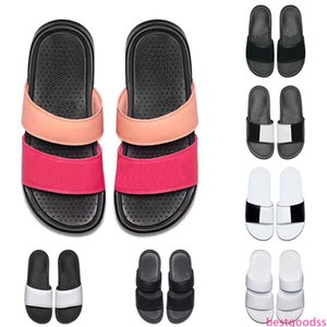 wholesale men women designer BENASSI ultra slippers black white for summer beach hotel shower room indoor Non-slip mens sandals size 36-45