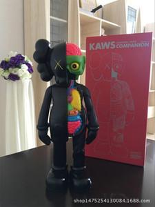 어린이 KAWS 장난감 37CM 002를위한 2019 16 인치 KAWS 해부 도우미 원래 가짜 액션 피규어 장난감