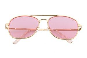 Metal spectacle frame Transparent color chip Spring foot designer women man sunglasses lens sunglasses men womens sunglasses woman uvex dita