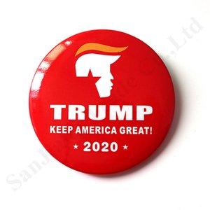 Brosche Abzeichen Trump 2020 Election Promotion US Presidential Medal Trump Medaille Zinn Wahl Chest-Dekoration-Partei Pins Geschenk HOT SALE C103002