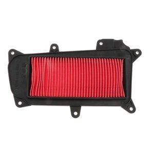 Ersatz Extra-Schutzplatte Motor Luftfilterelement für Kymco LX 125 2009-2012 17211-LGR5-E000 Scooter, Rot
