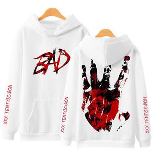 Neueste Mode xxxtentacion 3D Hoodie Rip xxx Tentacion Hip Hop Rapper Sweatshirts Jahseh Dwayne Onfroy Rache Herrenbekleidung