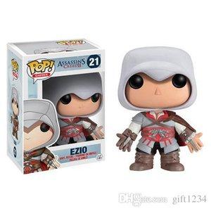 رائعتين رائعتين Funko Pop Assassin's Creed Ezio Vinyl Action Figure with Box # 21 Popular Toy Doll نوعية جيدة