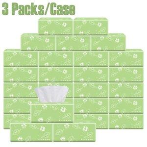 3 팩/케이스 빠른 쇼핑 종이 뭉치 화장지 4 개의 층 목욕탕 화장실 부엌 조직 청소 목재 펄프