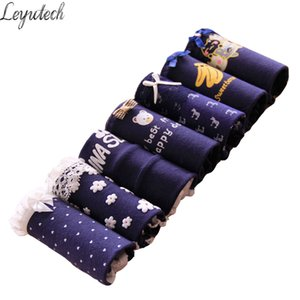 7 Pcs lot Underwears Girls Women Panties Cotton Underwear Briefs Women Sexy Lingeries For Woman