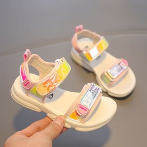 Babaya Children Sandals Girls Princess Shoes Breathable Fashion Student Beach Shoes Kids Shoes for Girl 2020 Summer New Style CX200530