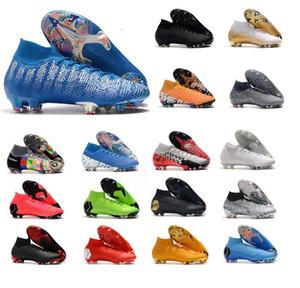 رجل زئبقي ال superfly VI أحذية كرة القدم 360 النخبة FG KJ 6 XII 12 CR7 SE chuteiras دي futebol بنين Taquets أحذية كرة القدم المرابط